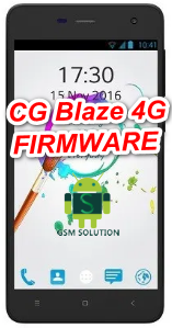 CG Blaze 4G V3.0 Stock Rom/Firmware/Flash file Download