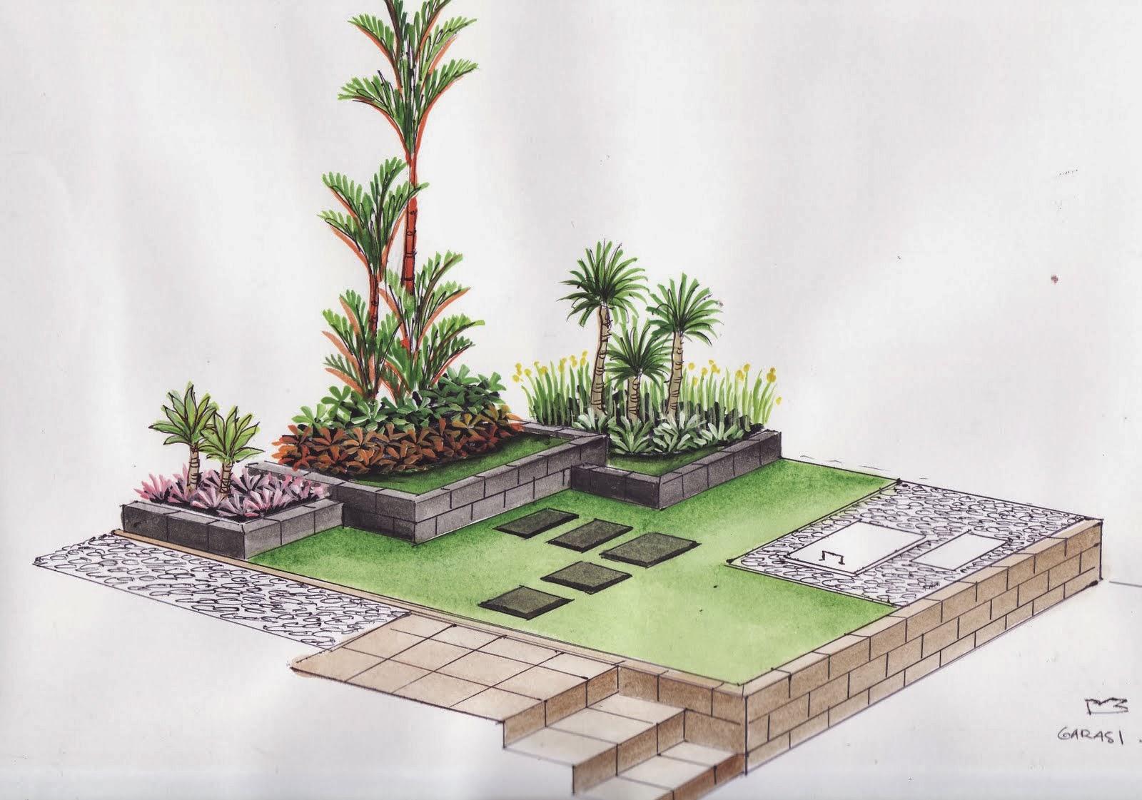 tukang taman murah taman minimalis jasa pembuatan