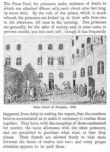 1809 death row prison yard illustration