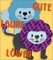 """Illustration """"Gute-Laune-Löwen"""""""