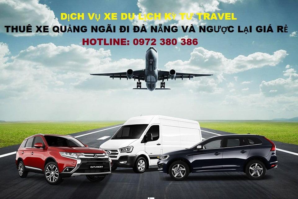 Thuê xe dịch vụ Quảng Ngãi đi Đà Nẵng giá rẻ