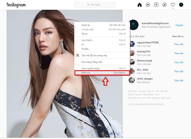 Cách tải ảnh trên Instagram về điện thoại và máy tính đơn giản
