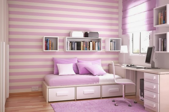 desain lucu kamar tidur anak