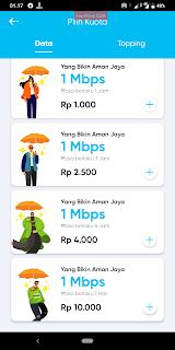 Paket internet murah unlimited tanpa batas kuota