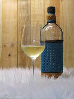 gehaakte wijnfles hoes