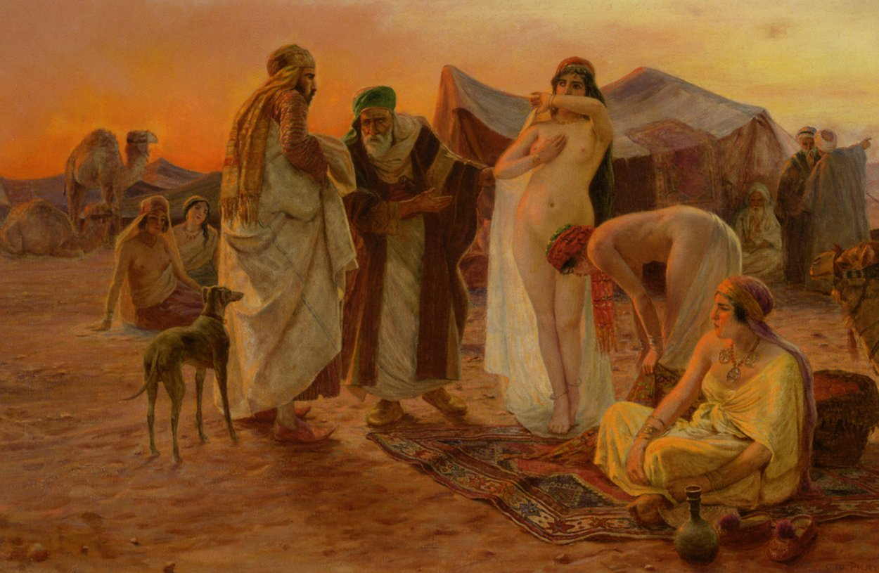 Otto Pilny A Rest In The Desert painting - A Rest In The