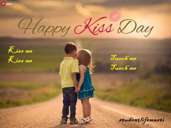 Happy Kiss Day...