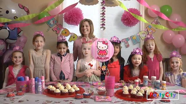 Thèmes de fête d'anniversaire filles