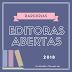 Editoras com parcerias abertas para 2018