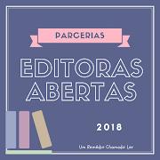 Editoras com parcerias abertas para 2018 (ATUALIZADO EM 20/01)