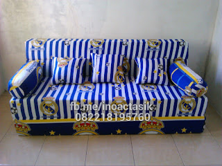 Sofa bed Inoac motif real madrid inoactasik