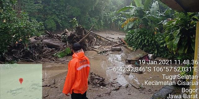 Banjir Bandang Terjadi di Bogor, BMKG:  Hujan Masih akan Terjadi