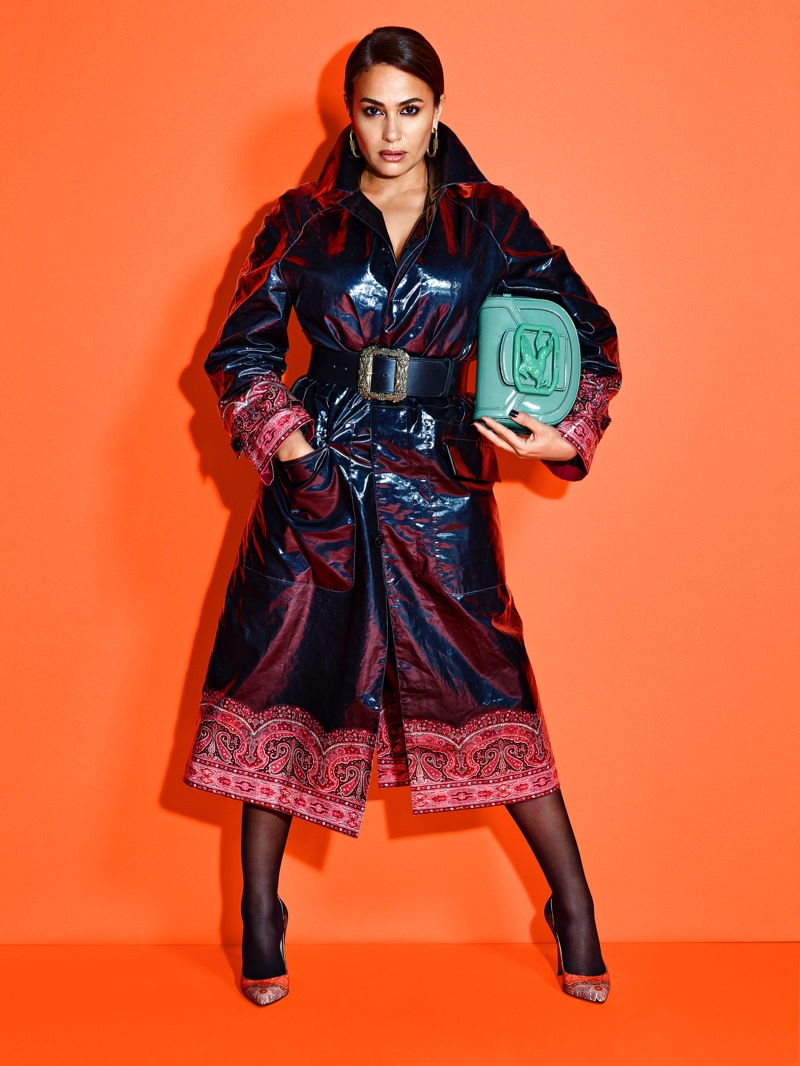 Hend Sabry stars in Etro Pegasus Club campaign.