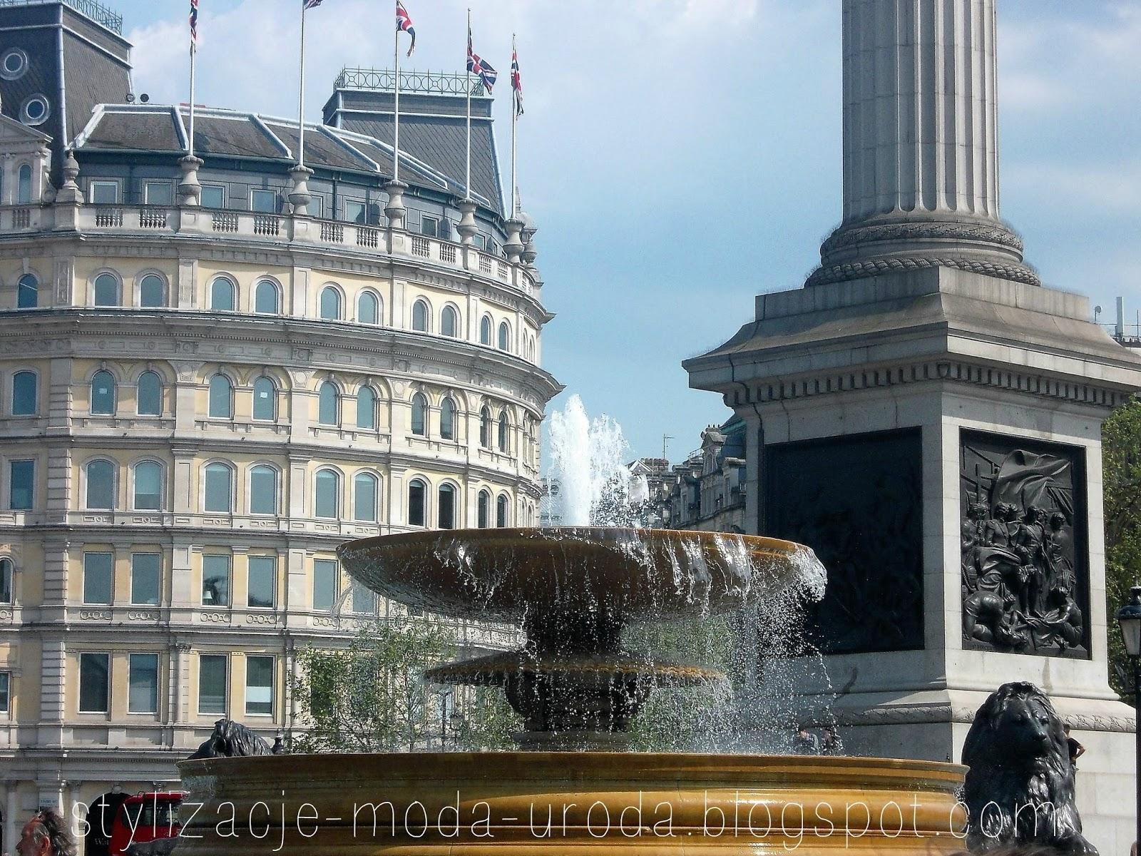 londyn fontanny