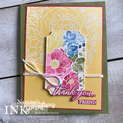 By Angie McKenzie for Kylie's International Blog Highlights - please VOTE for me; Click READ or VISIT to go to my blog for details! Featuring the Breathtaking Bouquet, A Big Thank You, Kindness & Compassion Stamp Sets with the Painted Labels Dies; #stampinup #breathtakingbouquetstampset #abigthankyoustampset #kindnessandcompassionstampset #postivethoughtsstampset #paintedlabelsdies #subtle3dembossingfolder #fussycutting #thankyoucards #embossing #watercolor  #cardtechniques #handmadecardsarethebest