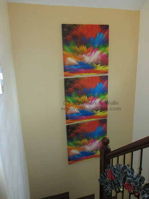 Vinyl Wallpaper for Staircase Wall - Merville, Parañaque City