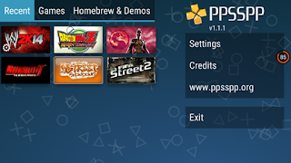 Latest PPSSPP Emulator V1.2.2.0