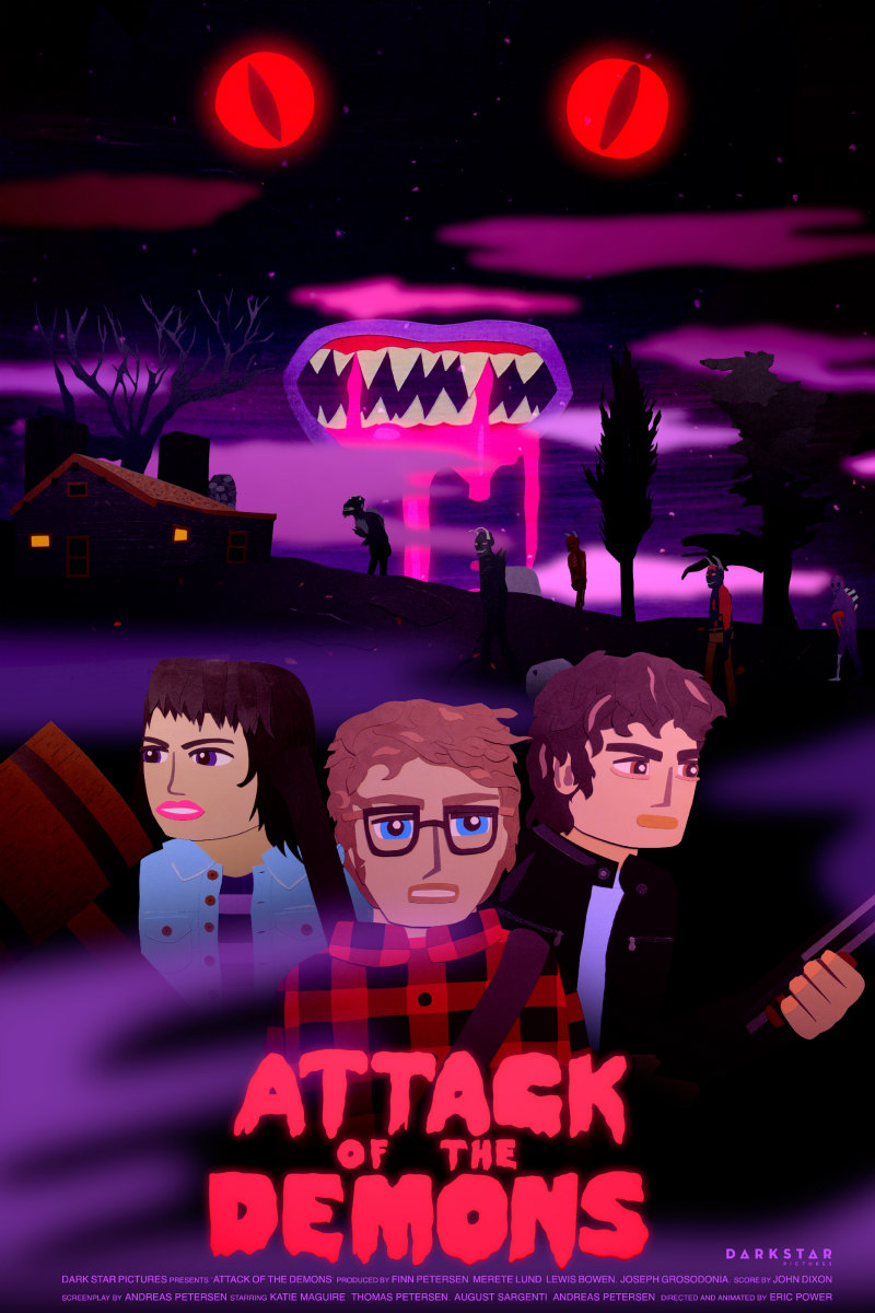 Attack of the Demons poster