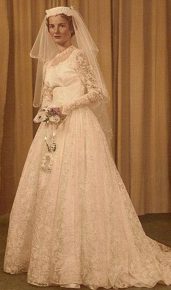 Noiva em 1958