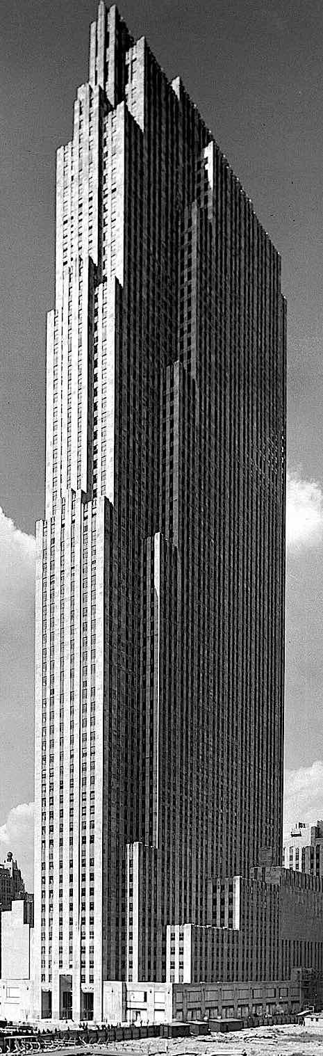 a 1933 skyscraper photograph