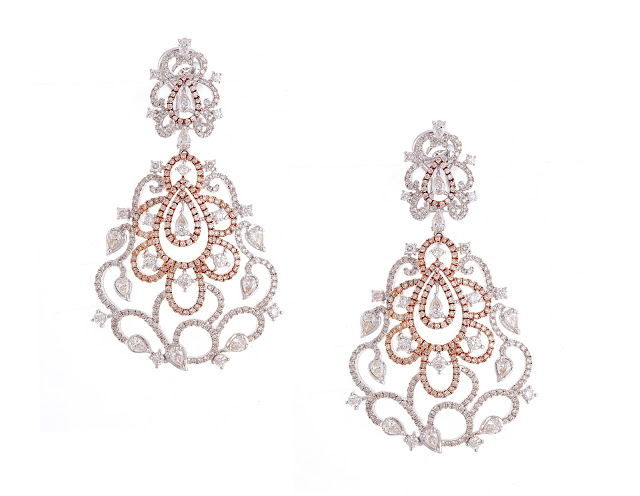 Entice diamond earrings_ Amra collection