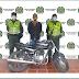En La Paz andaba en una moto 'regrabada'