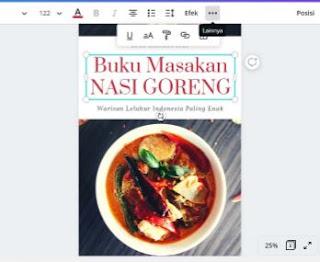 cara membuat cover buku di komputer