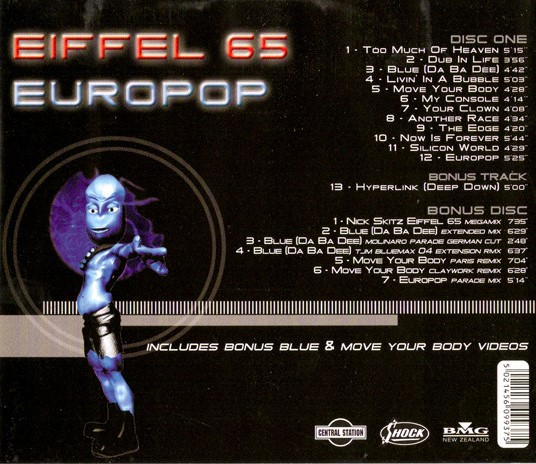 eiffel 65 discography wikipedia