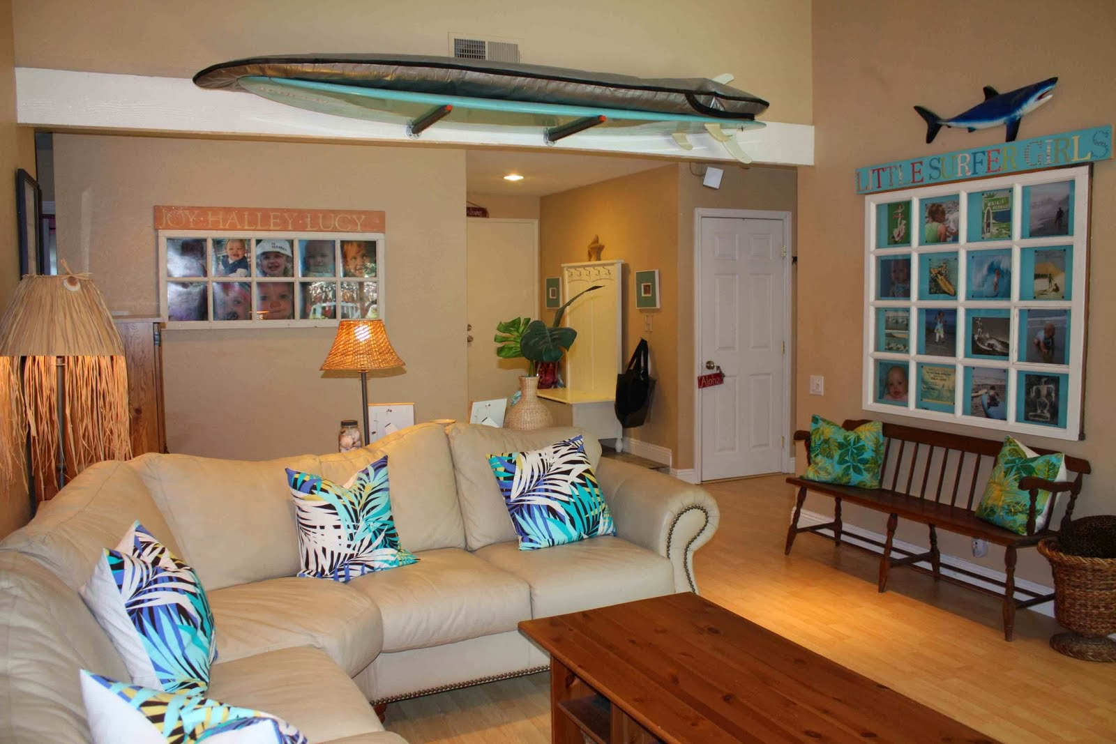 Offshore Winds Surfboard Storage In A Studio Apartment