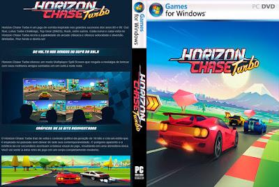 Jogo Horizon Chase Turbo PC DVD Capa