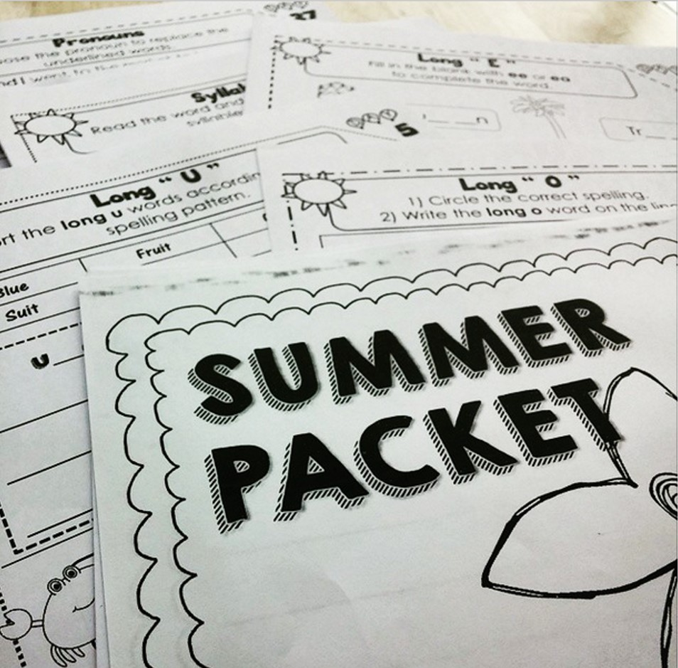 Tiny Teaching Shack: Summer Packets