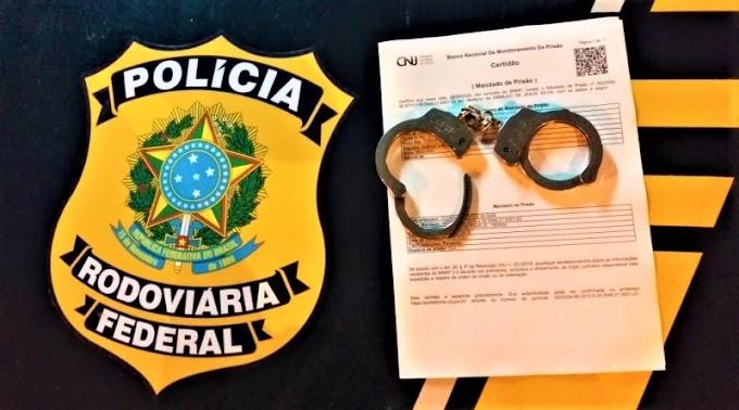 Procurado da justiça por roubo é preso pela PRF em Mossoró/RN