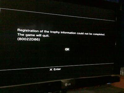 Cara mengatasi game PS3 yang tidak bisa dibuka
