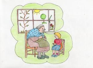 Resultado de imagen de cuentos abuela candelaria