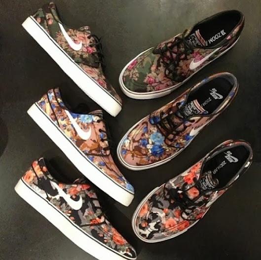 "nice shoes best service performance sportswear DARIO : Nike SB Zoom Stefan Janoski ""Digi Floral"" (MORE ..."