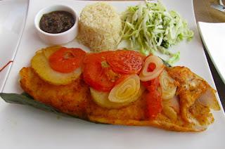 Pescado Tikixic Fish Lunch Isla Mujeres Mexico Caribbean Riviera Maya