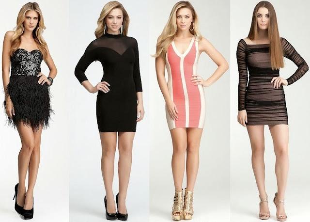Stylish Party Wear Bebe Dresses