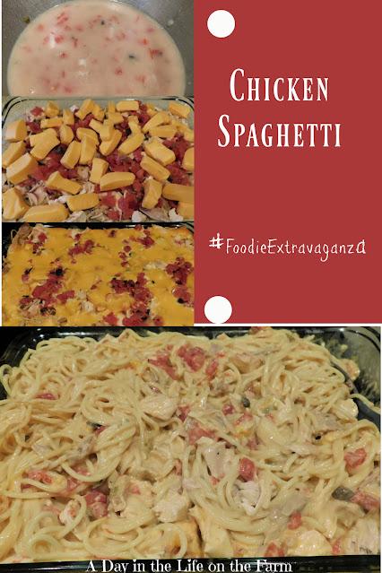 Chicken Spaghetti pin