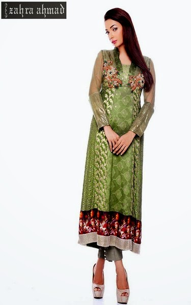 Zahra Ahmad Party Wear Pret Collection