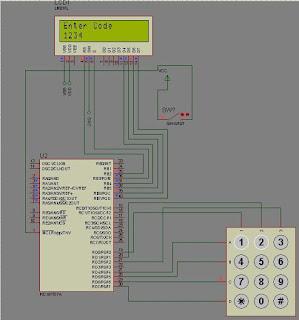 PIC Microcontroller Based Electronic Lock