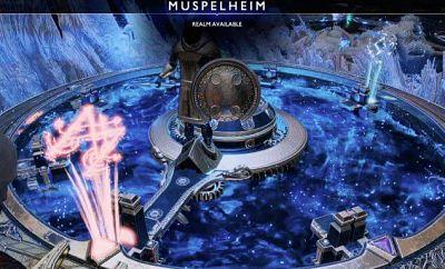 Menyelesaikan muspelheim dan niflheim