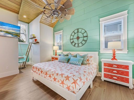Florida Home Bedroom Decor Bright Beachy Colors
