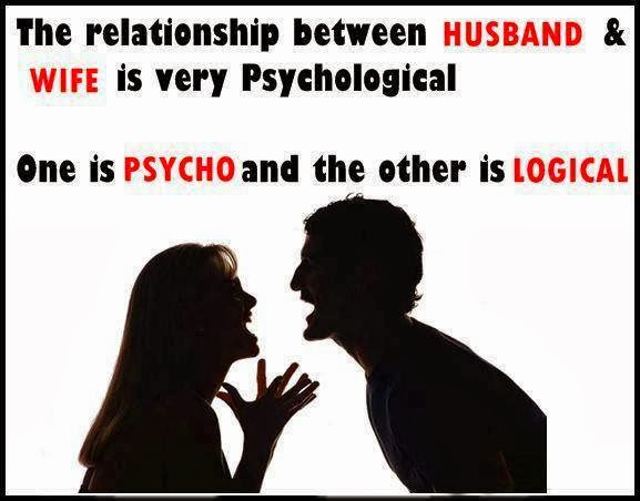 the relationship between a husband and wife is psychological coercion