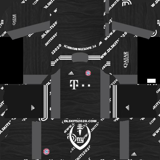 FC Bayern Munich Kits 2021-2022 Adidas - Dream League Soccer 2019 Kits (Away Goalkeeper)
