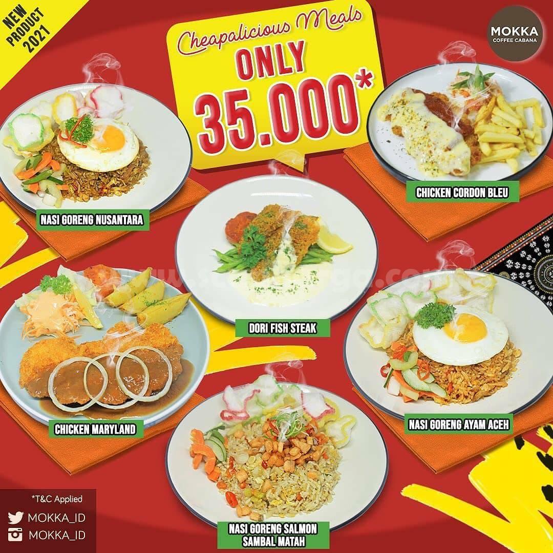 Mokka Coffee Cabana Promo Cheapalicious Meals Only Rp 35.000 per menu