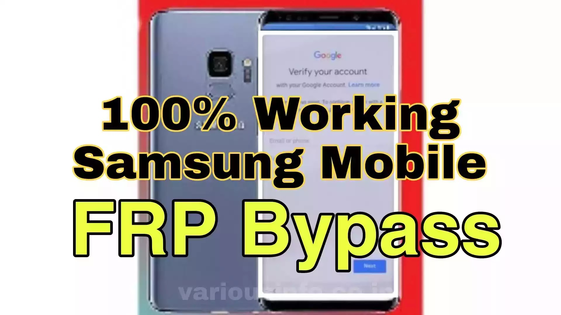 How To Bypass Samsung Smartphone FRP Lock Without PC in hindi   google account bypass trick in hindi