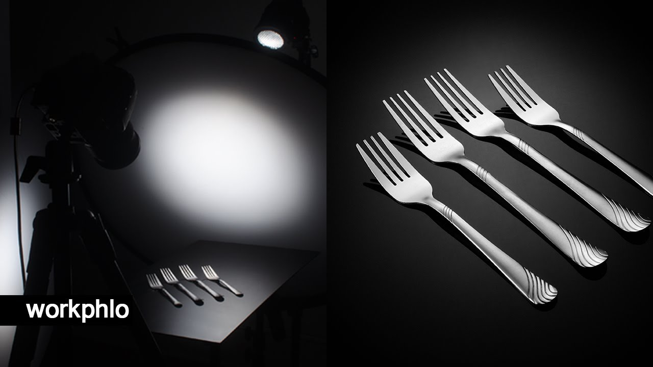 Capturing Cutlery Photography with 1 Light
