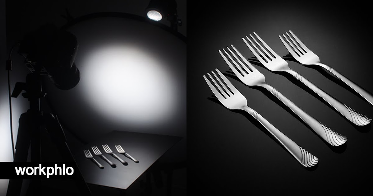 Reflective products: Capturing Cutlery Photography with 1 Light