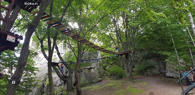 Park linowy Ogrodzieniec