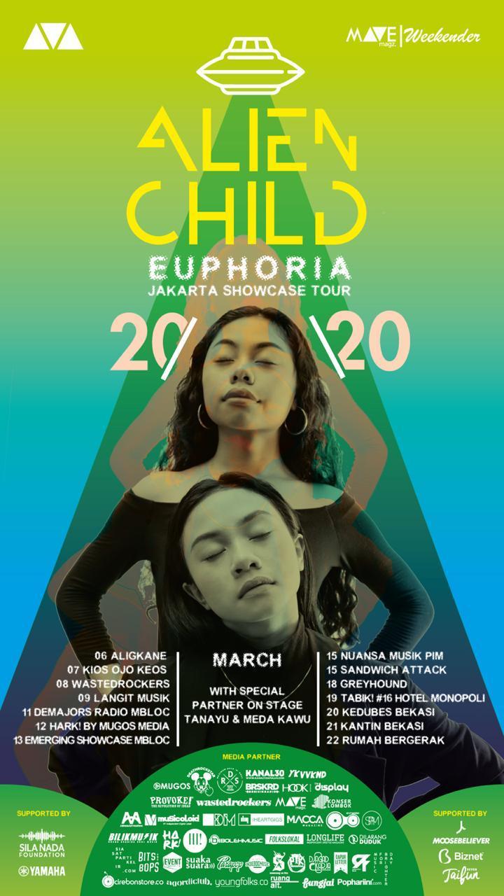 EUPHORIA JAKARTA SHOWCASE TOUR 2020 - Alien Child